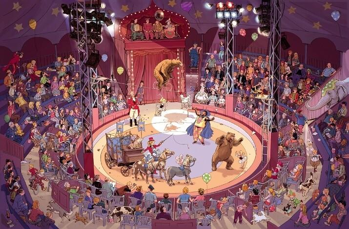 В цирке (виммельбух)_img_2
