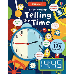 Telling the Time (Board book)