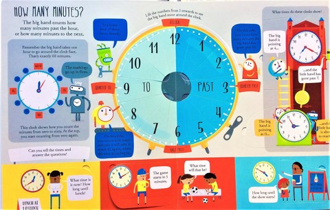 Telling the Time (Board book)_img_1