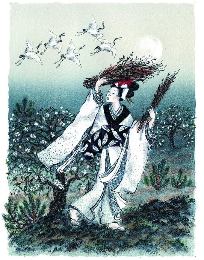 Японские сказки. Храбрый Иссумбоси_img_1