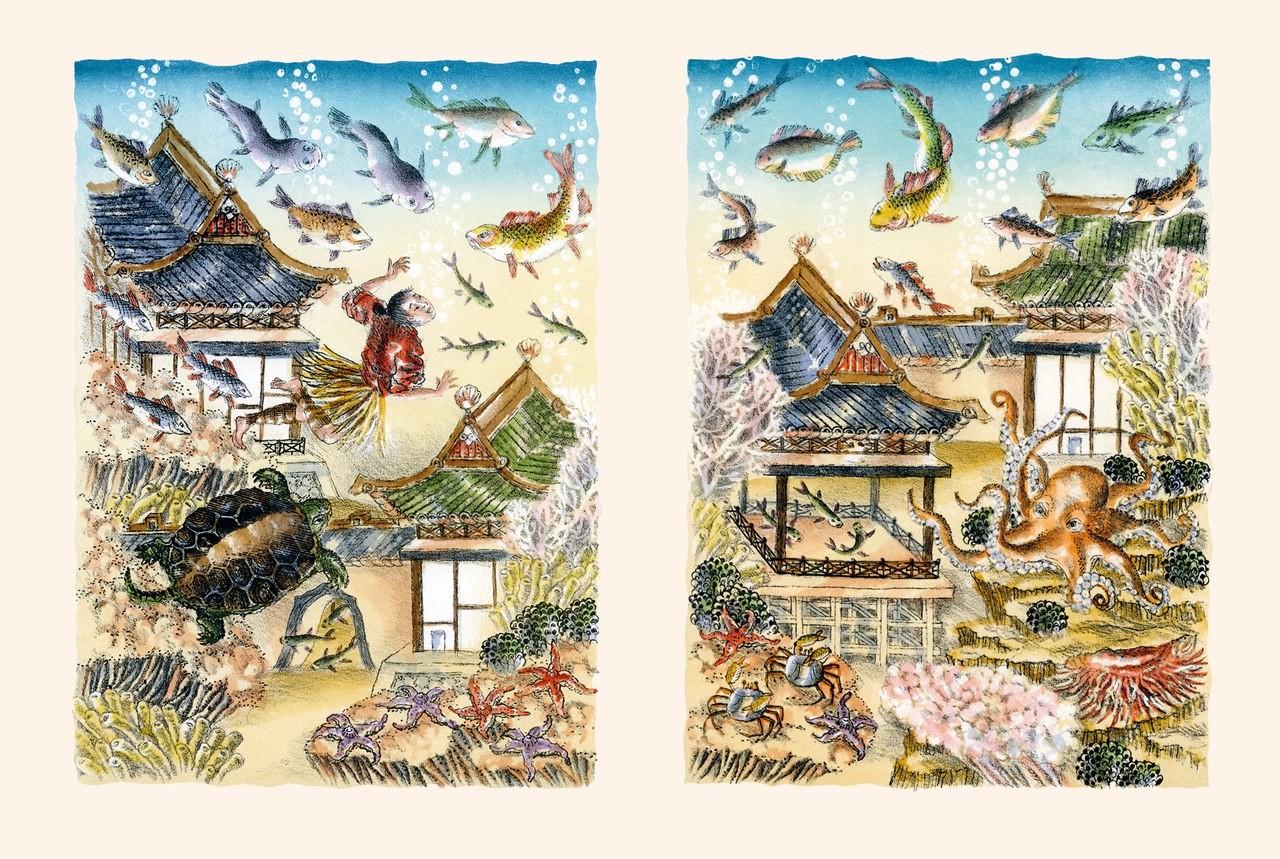 Японские сказки. Храбрый Иссумбоси_img_2