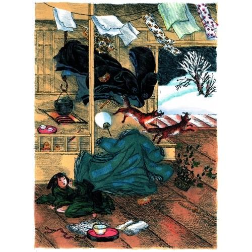 Японские сказки. Храбрый Иссумбоси_img_3