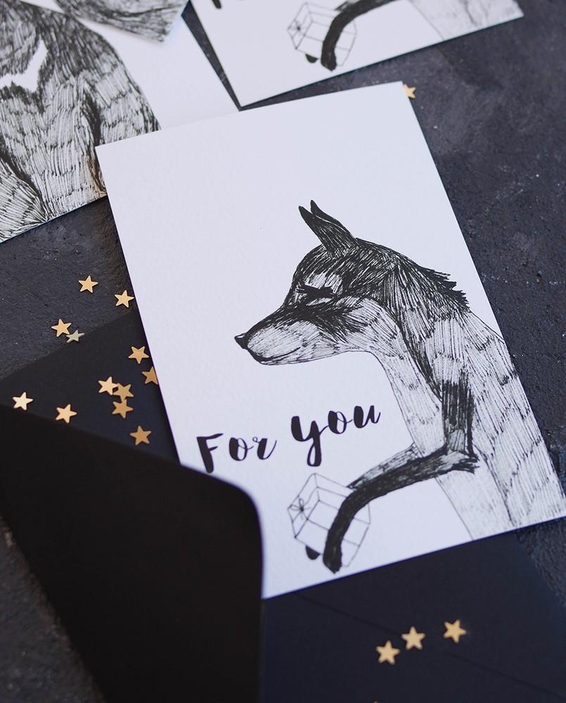 "Открытка ""Fox""_img_0"