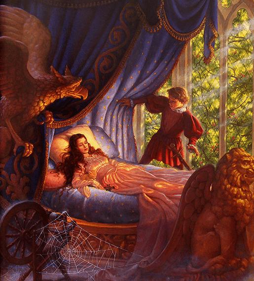 Классические сказки на ночь с иллюстрациями Скотта Густафсона_img_2
