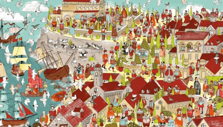 Где Шекспир? Найдите Шекспира среди героев его пьес._img_1