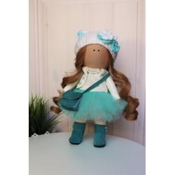 Куколка в бирюзовом.