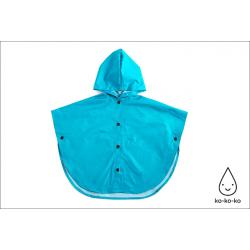 Плащ-дождевик (голубой)
