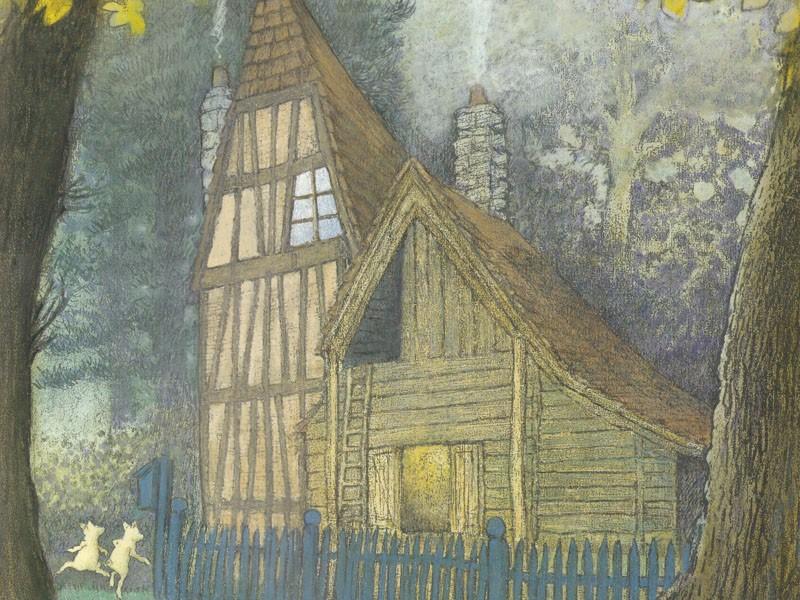 Домик в лесу (иллюстрации Инги Мур)_img_2