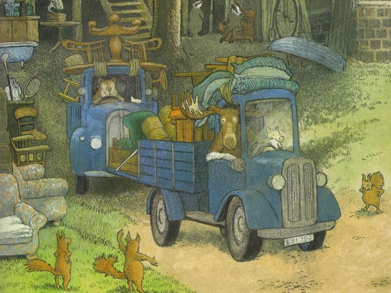 Домик в лесу (иллюстрации Инги Мур)_img_4