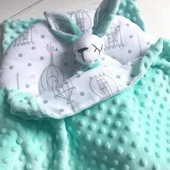 Malish_bunny -  приданное в кроватки малышам   Мишки и Книжки