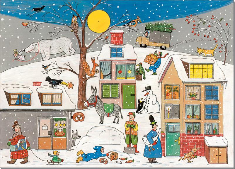 Илюстрации книни - Зимняя книга