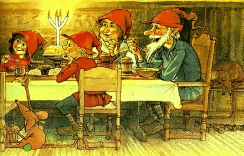 Илюстрации книги - Рождественская каша